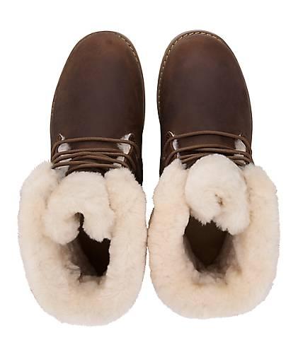 Boots Damen Boots dunkel Shoreline dunkel Braun Braun Damen Shoreline 5qBtXx4