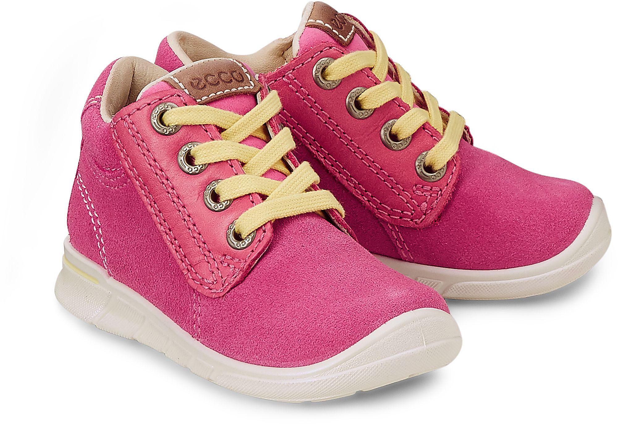 158dc18fff791c Halbschuh FIRST von Ecco in pink für Mädchen. Gr. 21