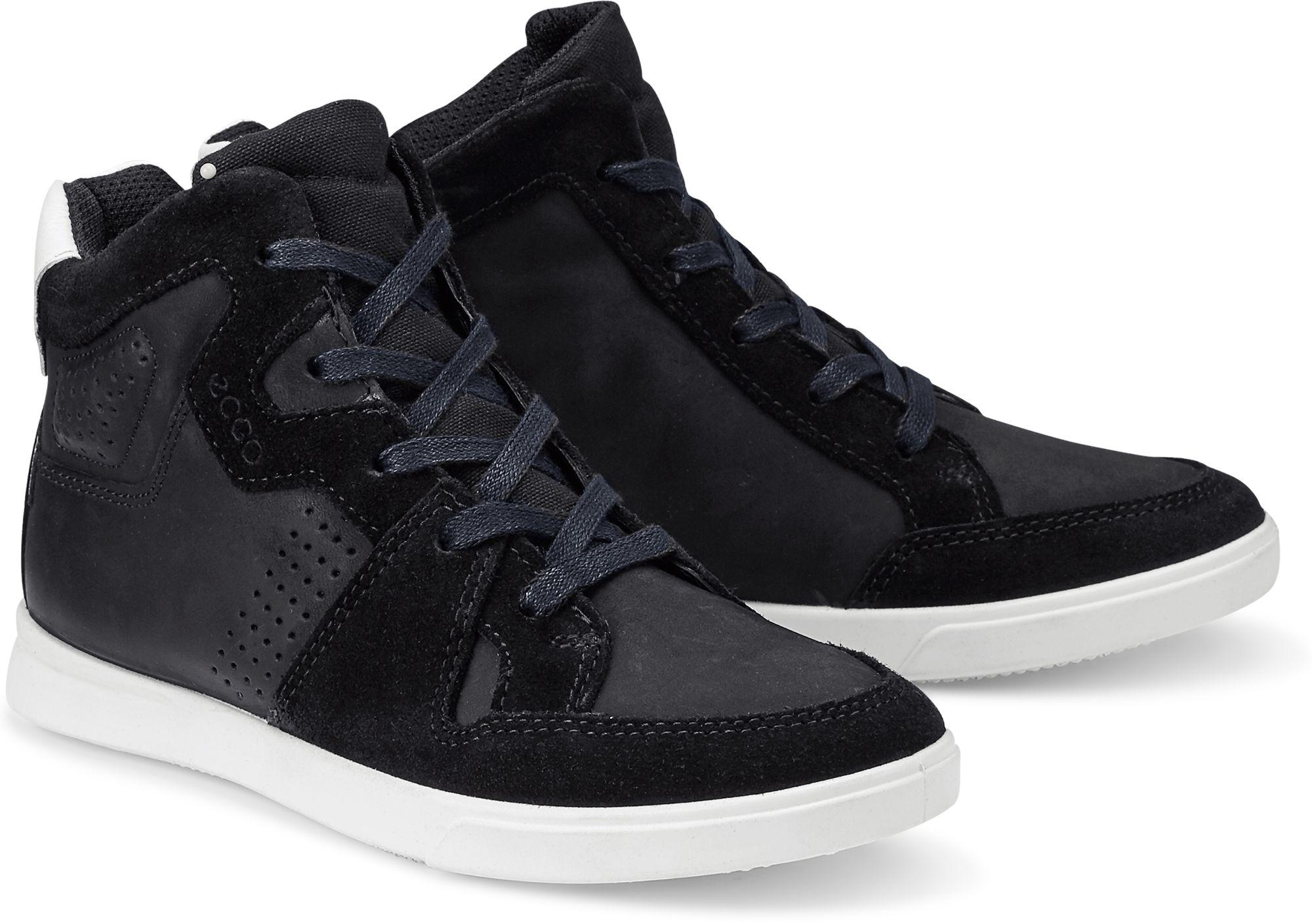 cca60487c0cad8 Hi Top Sneaker SHAY von Ecco in schwarz für Jungen. Gr. 33