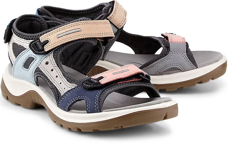 Neu Ecco Offroad Grau Sandalen Damen Online Bestellen
