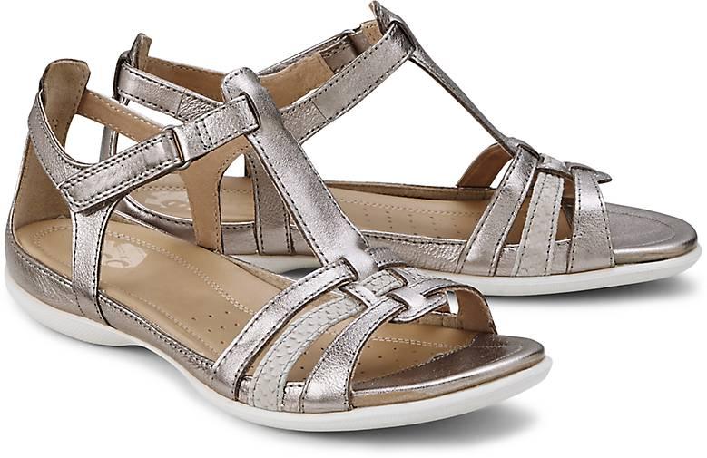 ecco sandalette flash riemchensandalen gold g rtz. Black Bedroom Furniture Sets. Home Design Ideas