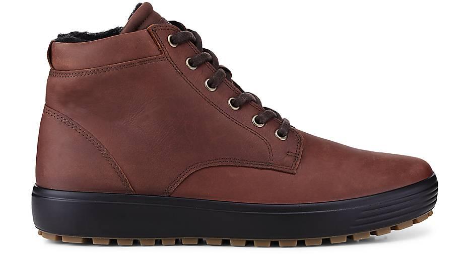 Ecco Schnür-Stiefel SOFT 7 in in in braun-mittel kaufen - 47741701 GÖRTZ Gute Qualität beliebte Schuhe 3d9233