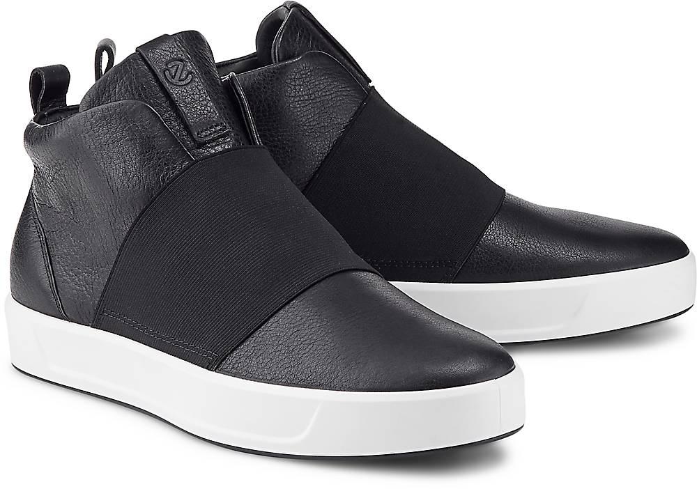 Sneaker Soft 9 von Ecco in schwarz für Damen. Gr. 39,40,41 Preisvergleich