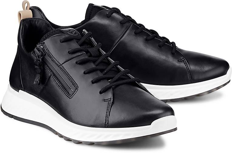 6e77a83c05f893 Ecco - Sneaker ST1 - Sportliche Schnürer - schwarz - GÖRTZ