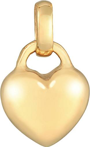 Elli Anhänger Herz Liebe Romantik 925 Sterling Silber