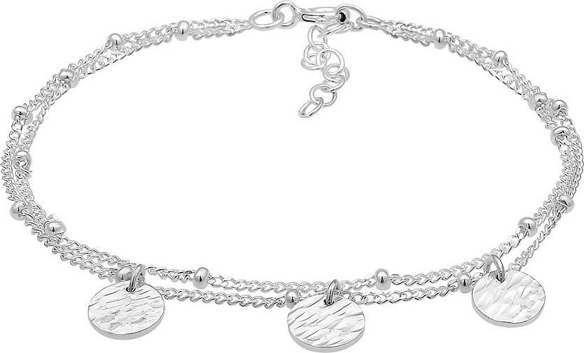 Elli Armband Basic Layer Kettchen Kugeln Trend Geo 925er Silber
