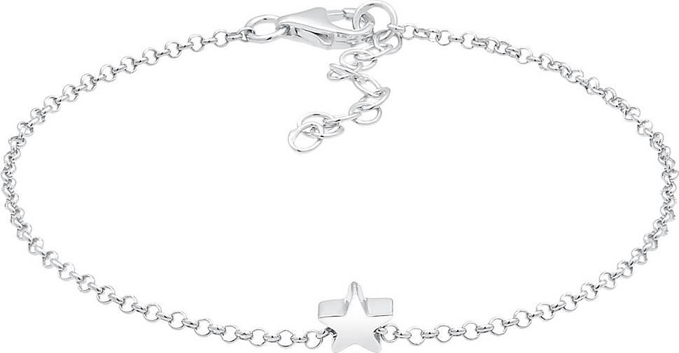 Elli Armband Erbskette Stern Anhänger Astro Basic 925 Silber