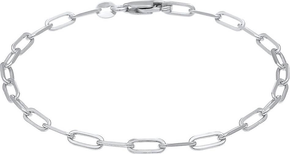 Elli Armband Glieder Oval Basic Chain Optik 925 Silber