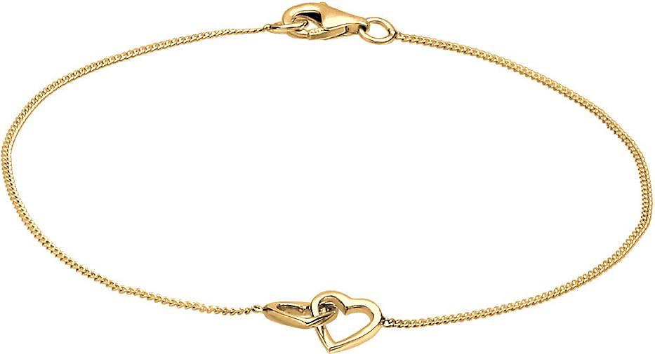Elli Armband Herz Heart Verschlungen Symbol 925 Silber
