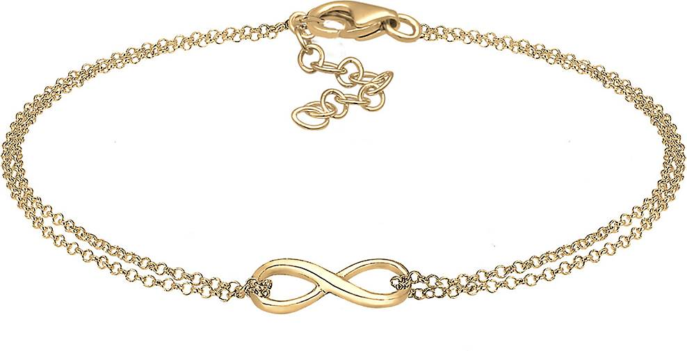Elli Armband Infinity Symbol Love Unendlich 925 Sterling Silber
