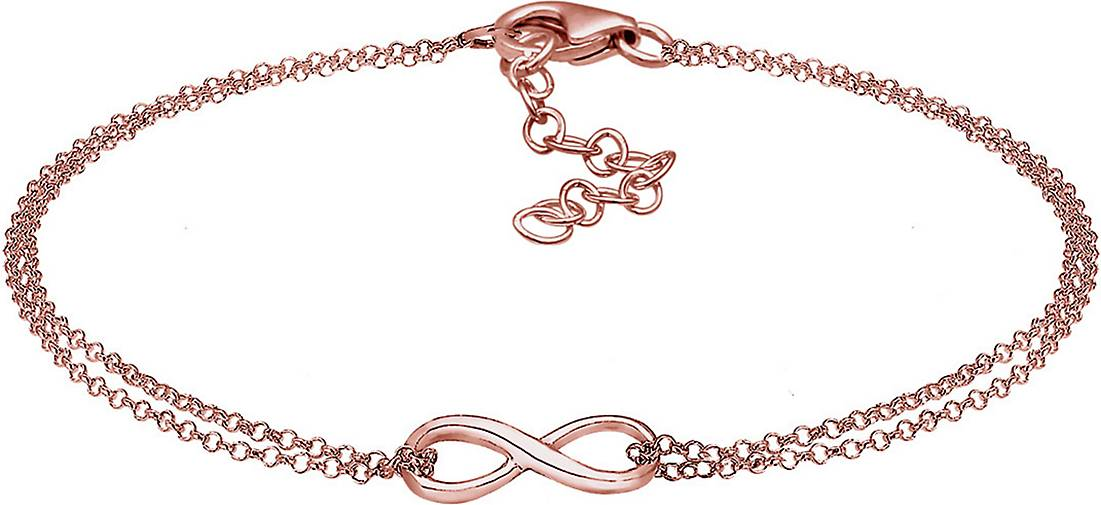 Elli Armband Infinity Symbol Love Unendlich 925 Sterling Silber