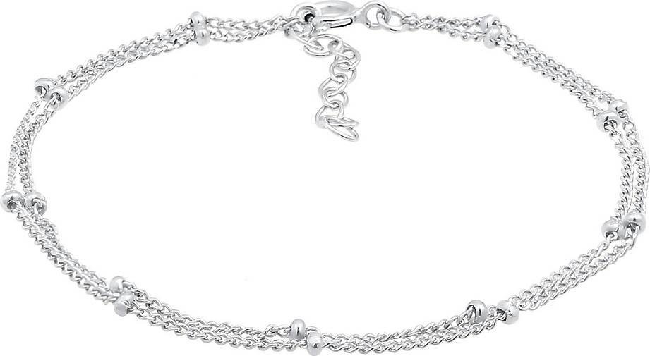 Elli Armband Layer Kugel Kettchen Basic Trend 925er Silber