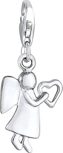 Elli Charm Schutzengel Herz Himmel 925 Sterling Silber
