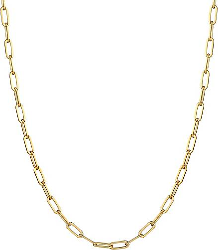 Elli Halskette Glieder Oval Grob Basic Chain Optik 925 Silber