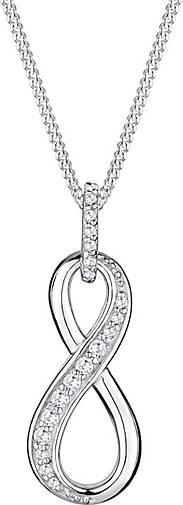 Elli Halskette Infinity For Ever Symbol Zirkonia 925 Silber