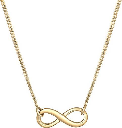 Elli Halskette Infinity Unendlichkeit Symbol 925 Silber