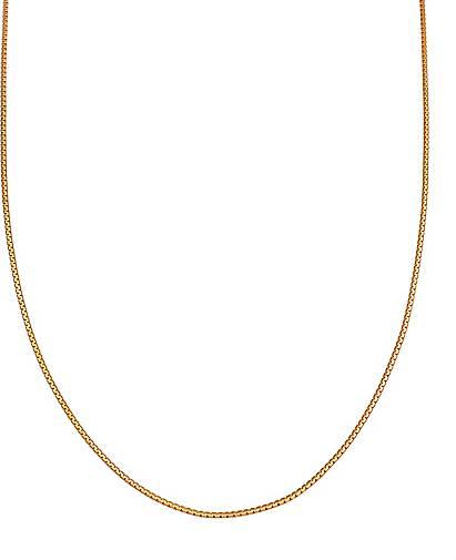 Elli Halskette Venezianer Basic Kette Abgerundet 925 Silber
