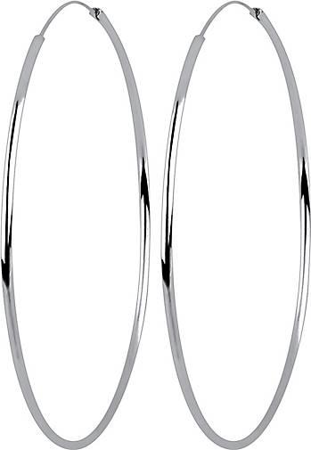 Elli Ohrringe Basic Creolen Trend Zeitlos 925 Sterling Silber