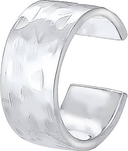 Elli Ohrringe Basic Single Earcuff Blogger Trend 925 Silber
