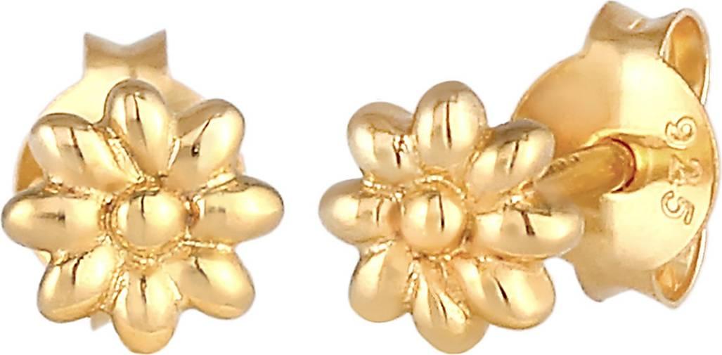Elli Ohrringe Gänseblume Natur Blüte Blume 925 Silber