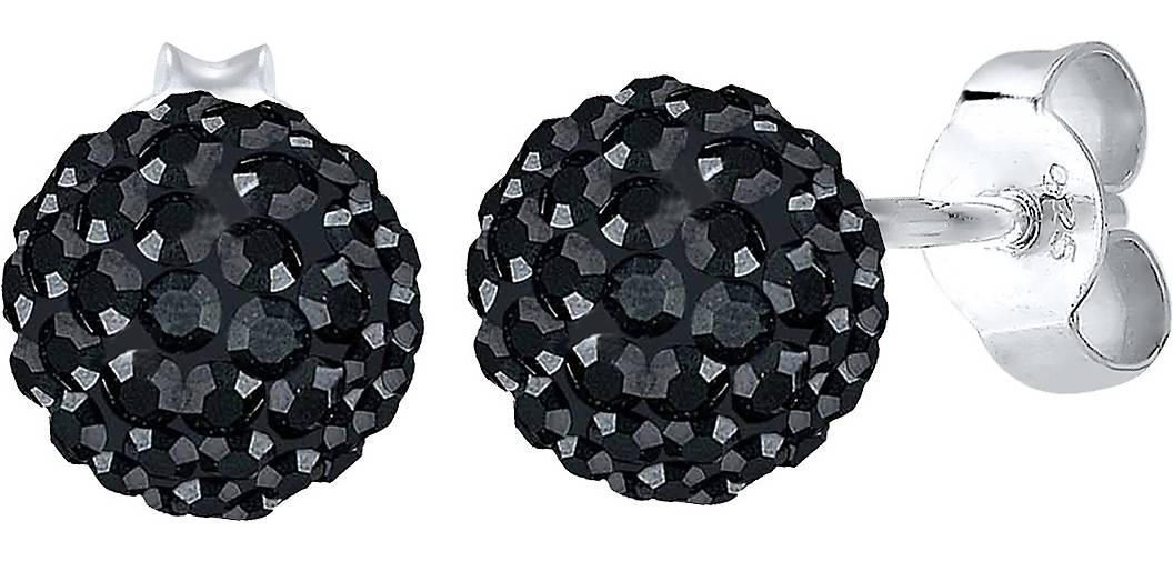 Elli Ohrringe Glamour Swarovski® Kristalle 925 Silber