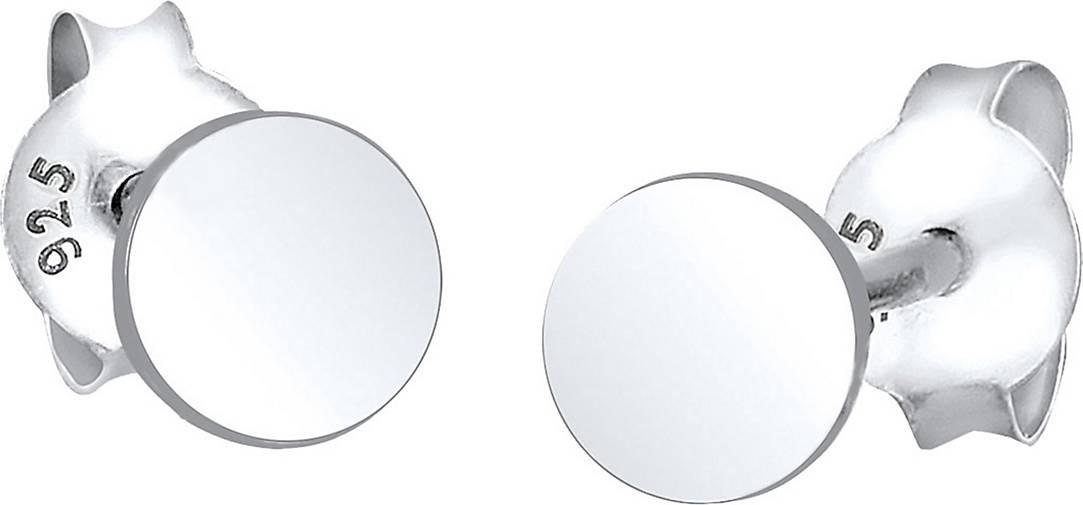 Elli Ohrringe Kreis Geo Trend Basic 925 Sterling Silber