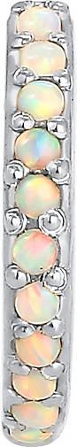 Elli Ohrringe Single Earcuff Synthetischer Opal 925 Silber