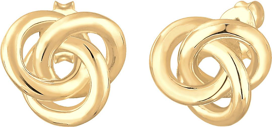 Elli Ohrringe Stecker Knoten Knot Basic Klassisch 925 Silber