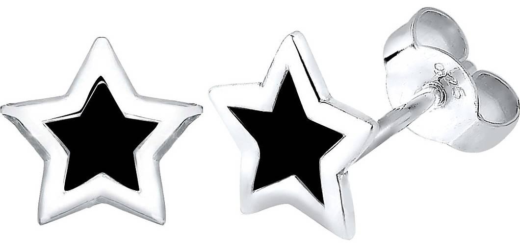 Elli Ohrringe Stern Trend Astro Filigran 925 Silber