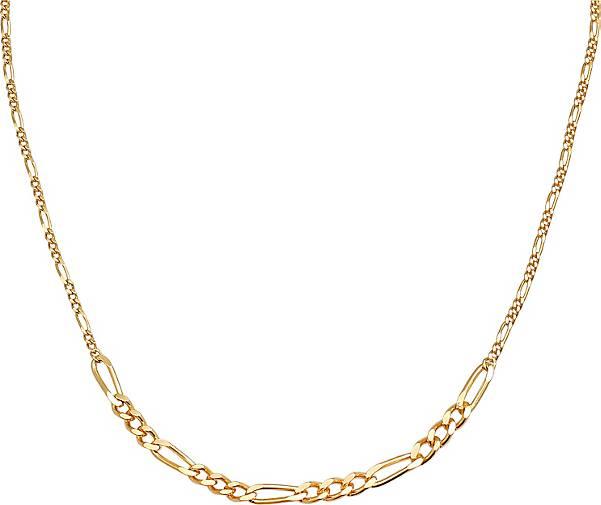 Elli PREMIUM Halskette Choker Figarokette Basic Mix 925 Sterling Silber