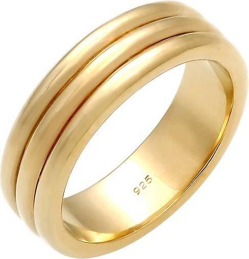 Elli PREMIUM Ring Paarring Drei Ringe Trauring Hochzeit 925 Silber