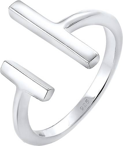 Elli Ring Geo Stab Minimal Trend Blogger 925 Sterling Silber