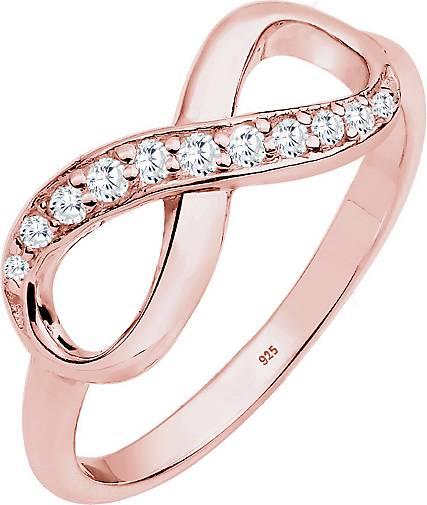 Elli Ring Infinity Zirkonia Eye Catcher 925 Sterling Silber