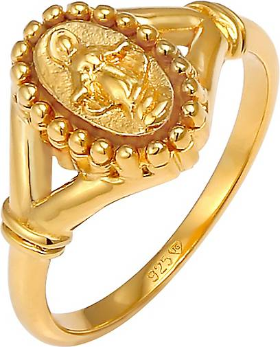 Elli Ring Maria Madonna Symbol Glaube 925 Sterling Silber