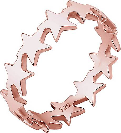 Elli Ring Sterne Astro Trend Blogger Universum 925 Silber