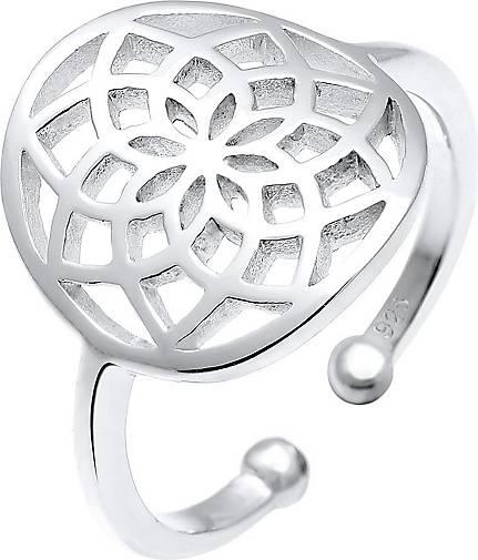 Elli Ring Traumfänger 925 Sterling Silber