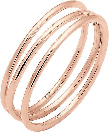 Elli Ring Wickelring Filigran Blogger Trend 925 Silber