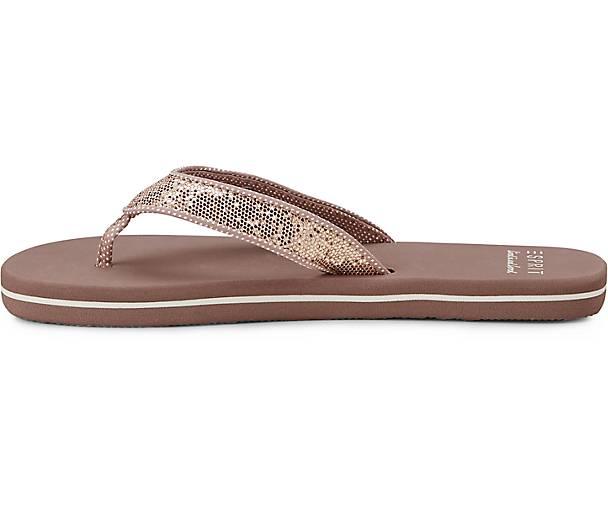 Beach sandal Damen Beige sandal Damen Glitter Glitter Beige Beach Damen Beach UW4OFBwIW