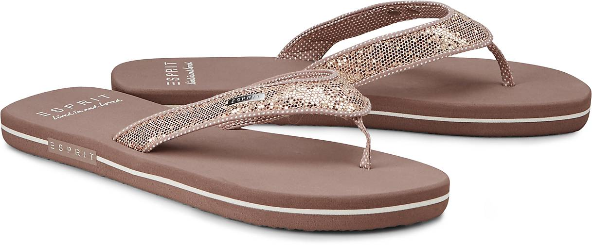 esprit beach sandal glitter in rosa kaufen 44269402 g rtz. Black Bedroom Furniture Sets. Home Design Ideas