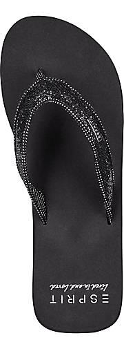 Esprit Beach-Sandal GLITTER in schwarz kaufen kaufen kaufen - 44269401 GÖRTZ Gute Qualität beliebte Schuhe 0b0cf9