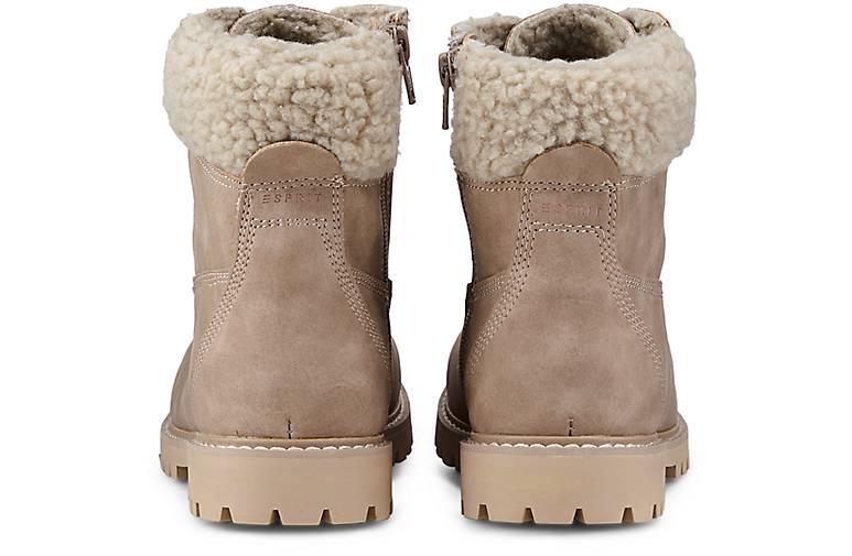Damen Landy Boots Landy Warm Damen Warm Beige Boots fz7Crqf48