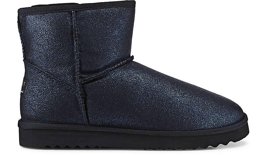 Uma Blau dunkel Low Boots Metal Damen 5wpOqP
