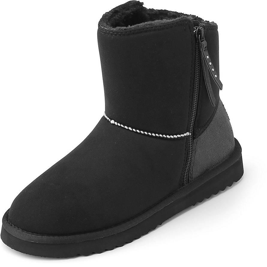 esprit boots uma zip boots schwarz goertz. Black Bedroom Furniture Sets. Home Design Ideas