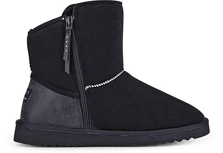 esprit boots uma zip winter boots schwarz g rtz. Black Bedroom Furniture Sets. Home Design Ideas