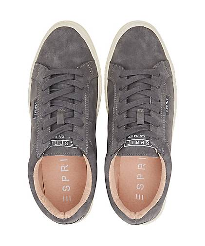Grau Lace Up Basic Mini dunkel Damen wfI0qPBTB