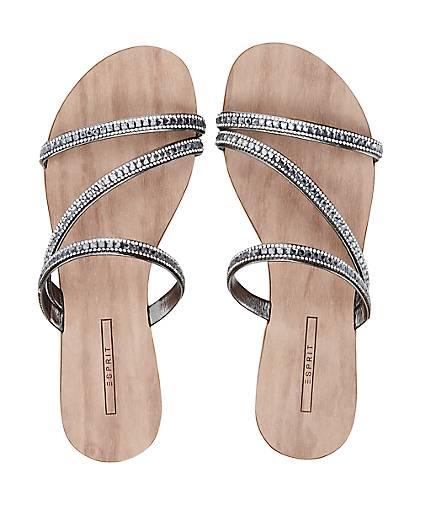 Damen Sandale 015 Nil Slide Silber 11r6qSn