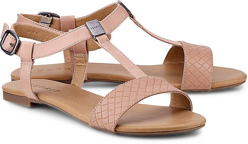 Kaufen In Riemchensandalen Rosa Esprit Woven Sandale Pepe EeYDHIW29