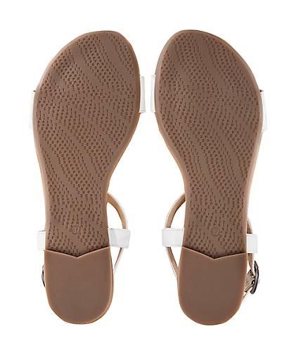Esprit Sandale PEPE WOVEN | in weiß kaufen - 47368303 | WOVEN GÖRTZ 09b1d7
