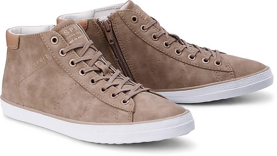 Esprit Sneaker MIANA BOOTIE in taupe kaufen - 45107401   GÖRTZ 93c6b97d28