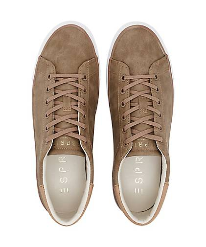 Taupe Damen Sneaker Lace Up Miana 770qpxZ